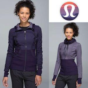 Lululemon Dance Studio Jacket III in Black Grape
